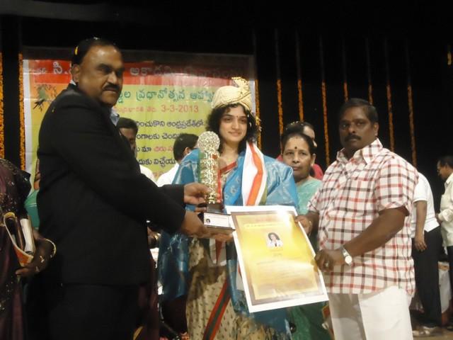 UGADI VAIDYA RATNA  Sir C V Raman Academy 3.3.2013