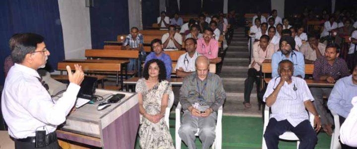 Prof M M Mehndiratta CME Programme