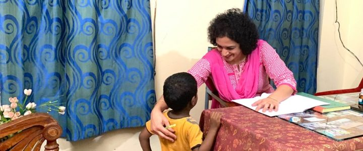 Regular camp at Pragathi Charities -06-07-2019