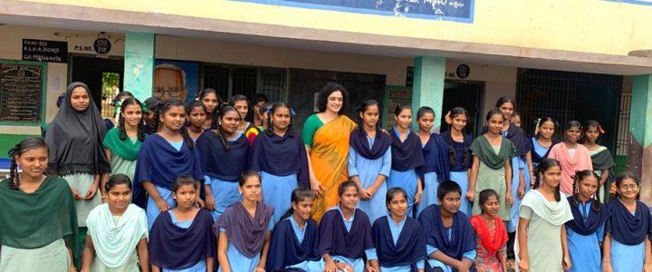 Awareness programme at Tataya Municipal High School -20-07-2019
