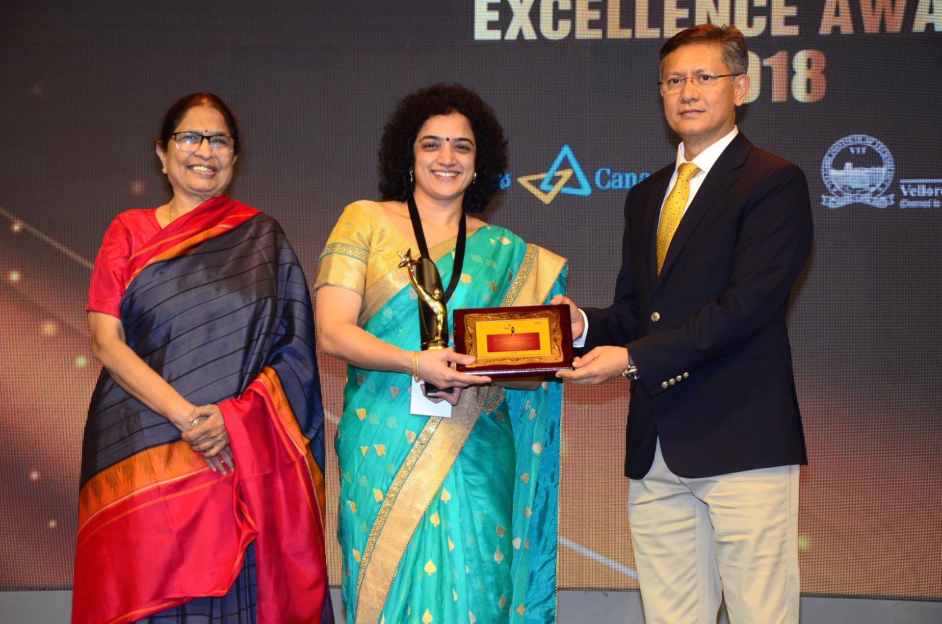 SAKSHI EXCELLENCE AWARD in HEALTH CARE