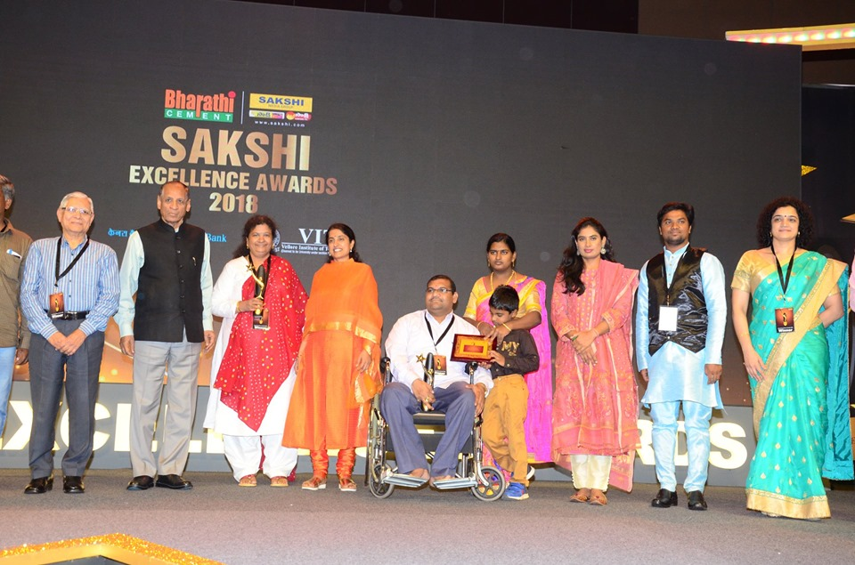 """SAKSHI EXCELLENCE AWARD in HELATH CARE"""" on 10th August 2019"""