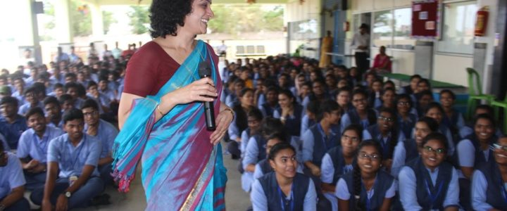Vowel junior college Nellore-Awareness programme on Stroke and epilepsy