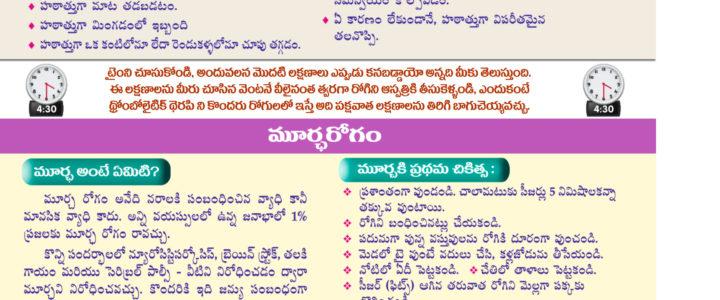 Brain Stroke Telugu