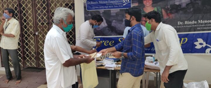 Regular camp was held for stroke and epilepsy patients -28-07-2020