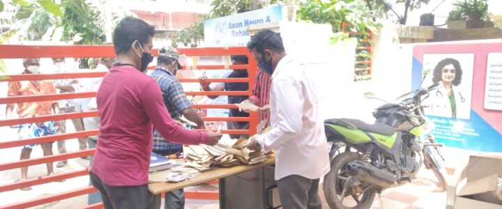 Free 82 camp was held for stroke and epilepsy patients -27-09-2020