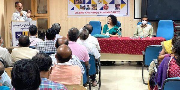 Stroke awareness at LIC Office Nellore -06-03-2021