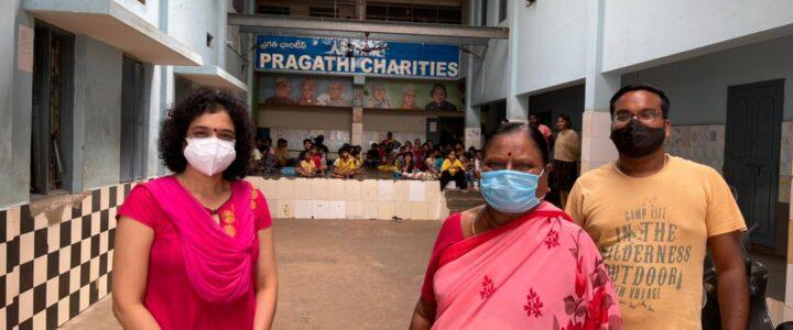 Regular camp at Pragati charities 31-07-2021