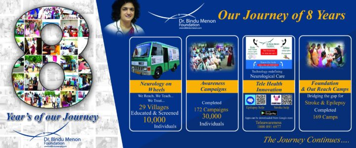 Dr Bindu Menon Foundation has completed 8 years