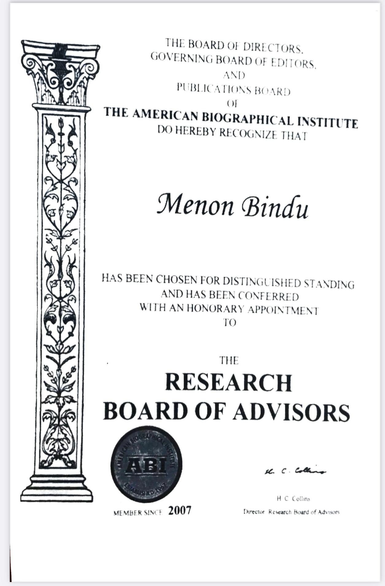 American Biographical Institute