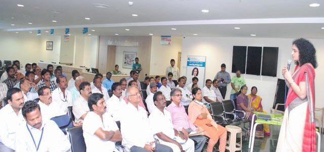 Awareness programme at Apollo Speciality Hospital 21-08-2015