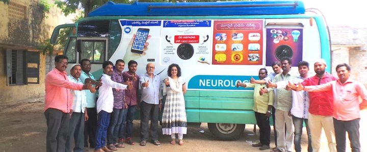 NEUROLOGY ON WHEELS at Manubolu-27-05-2018