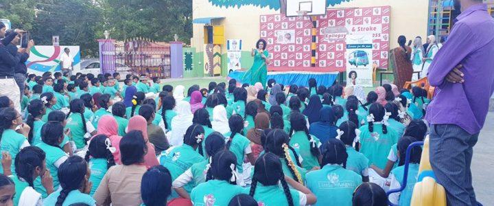 Little Angels School Awareness programme on Epilepsy and Stroke -04-11-2018