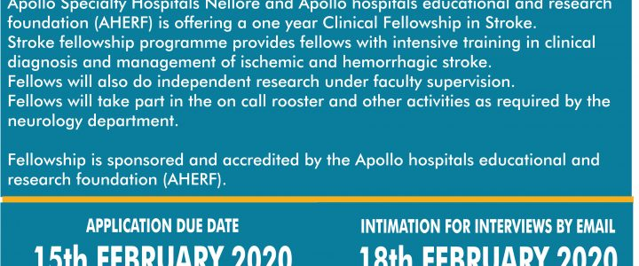 Clinical Fellowship in Stroke
