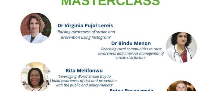 World Stroke Day Master Class Webinar