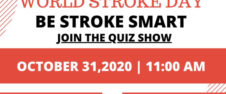 VIRTUAL STROKE QUIZ on 31st October 2020
