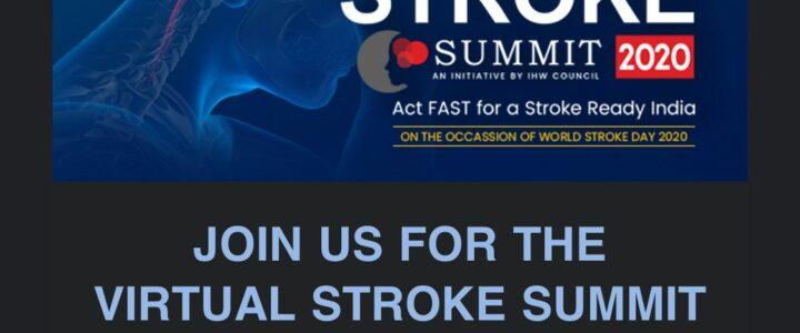 Virtual stroke summit 2020.